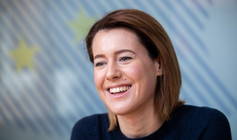 NEOS-EU-Spitzenkandidatin Claudia Gamon.