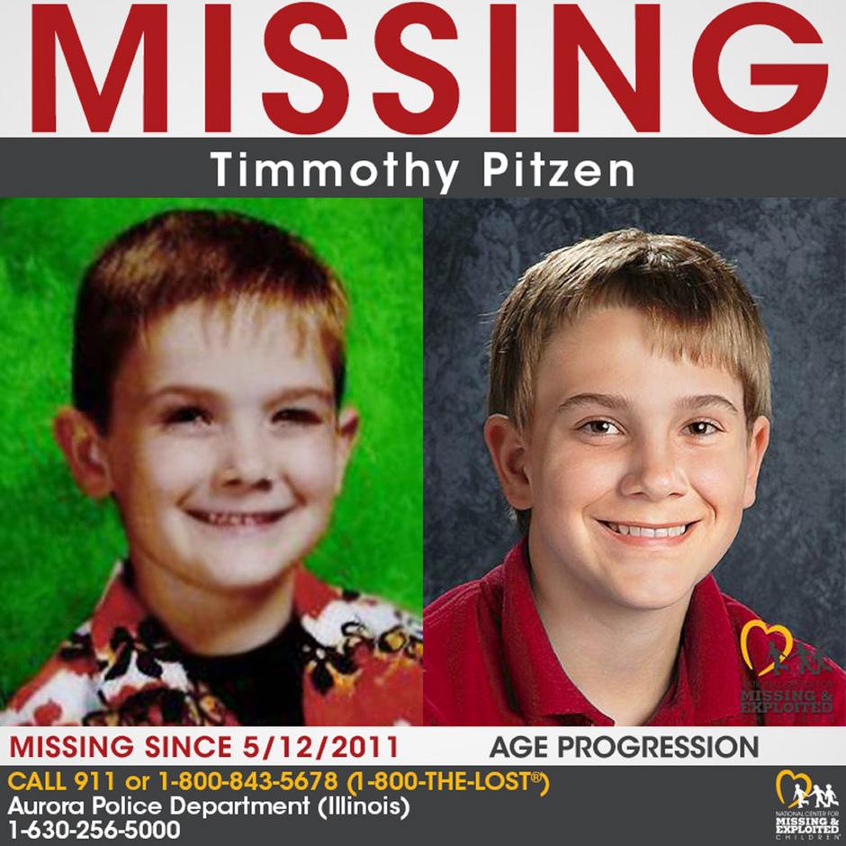 Das Foto zeigt den vermissten Timmothy Pitzen (l.) und wie dieser heute aussehen könnte.