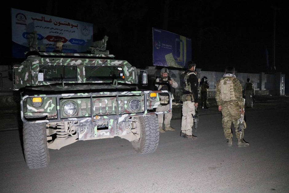 Afghanische Sicherheitskräfte. (Symbolbild)