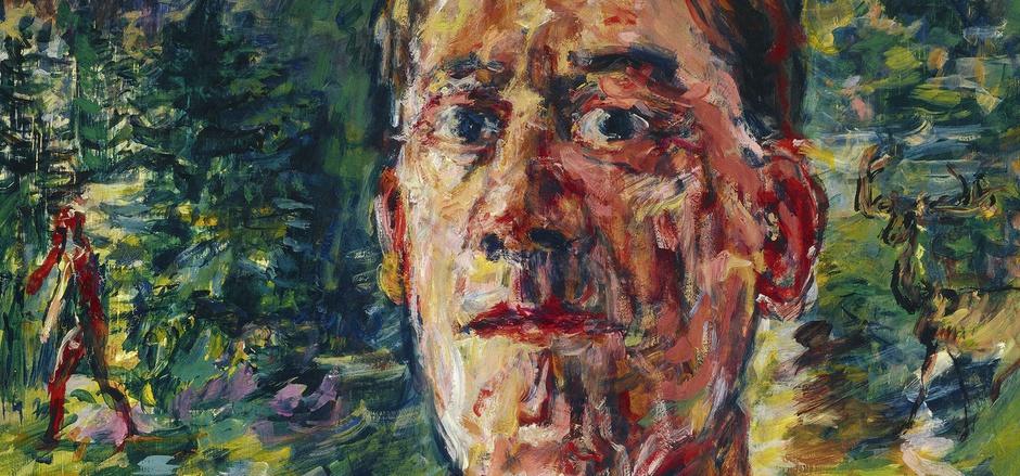 """Ironie trotz Verfemung: Oskar Kokoschkas """"Selbstbildnis eines entarteten Künstlers"""" aus dem Jahr 1937."""