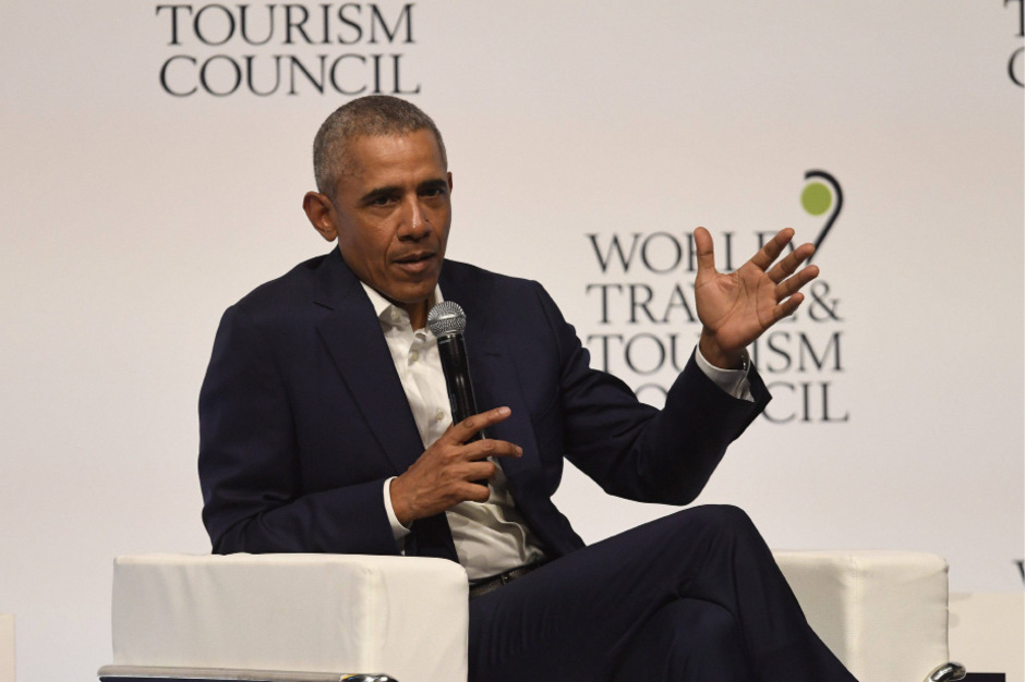 Auch in Sevilla war Barack Obama zu Gast – Fotos waren während seines Auftritts in Köln nicht erlaubt.