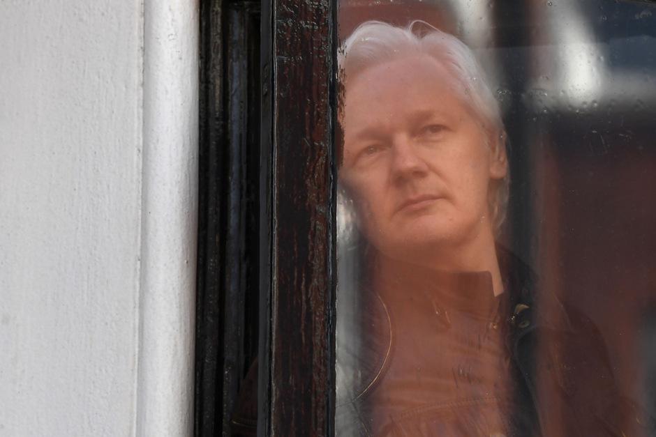 Wikileaks-Gründer Julian Assange sitzt seit fast sieben Jahren in der ecuadorianischen Botschaft London fest.