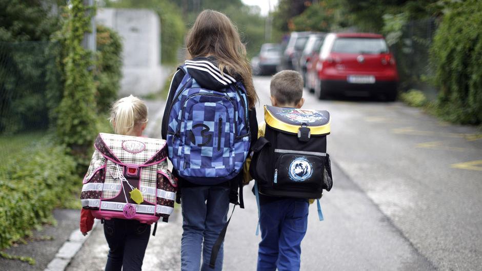 Kinder sollten in Gruppen zur Schule gehen, rät Hans-Peter Seewald vom Landeskriminalamt.