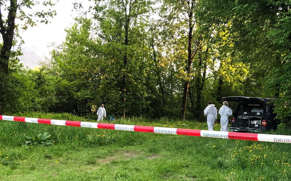 Letzten April war am Fritzener Innufer in einem Plastiksack eine Leiche entdeckt worden.