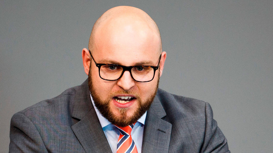 Der AfD-Bundestagsabgeordnete Markus Frohnmaier.