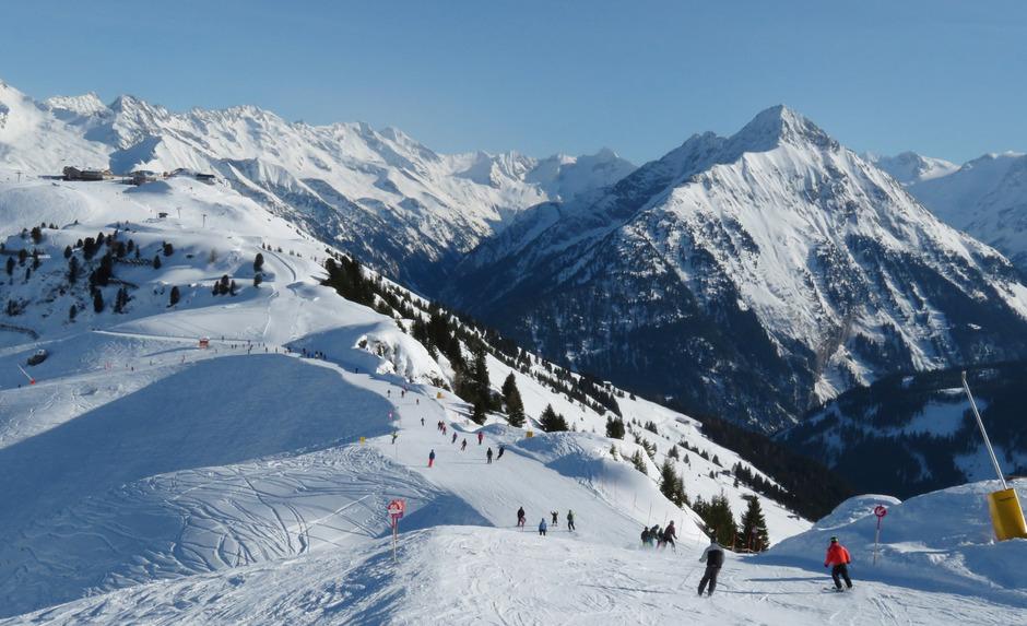 Die Panoramaabfahrt am Penken im Zillertal. (Symbolfoto)