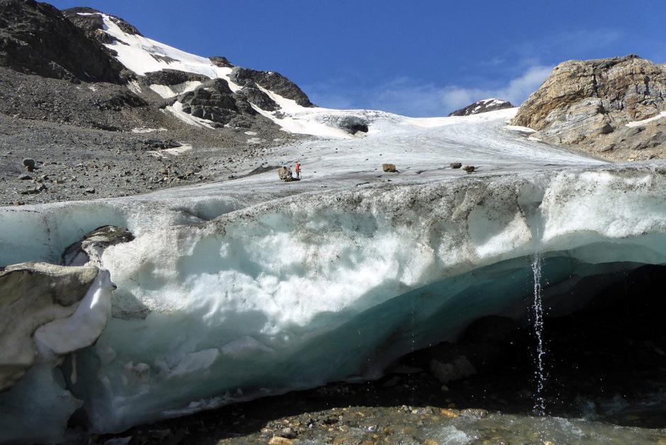 """Das geschmolzene Eis der Gletscher ist für 25 bis 30 Prozent des aktuellen Anstiegs des globalen Meeresspiegels verantwortlich, wie eine aktuelle Studie in """"Nature"""" zeigt."""