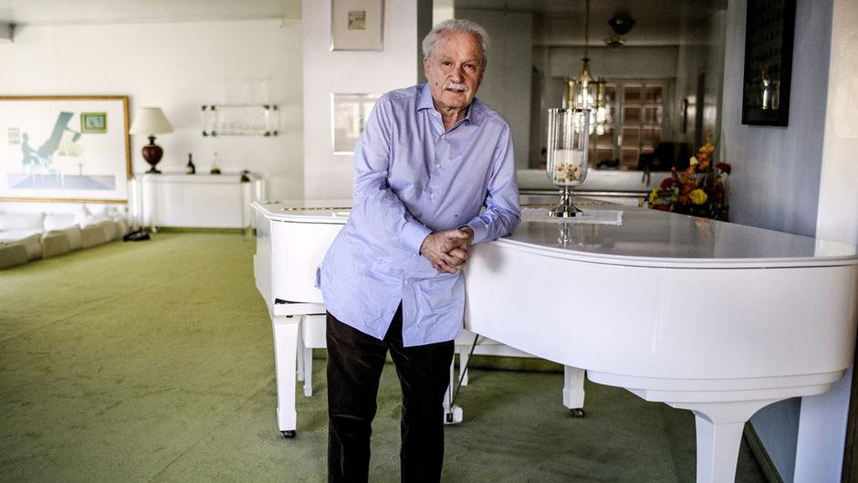 Erfolgsproduzent, Komponist und Musiker Giorgio Moroder.