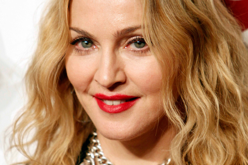 Popstar Madonna.
