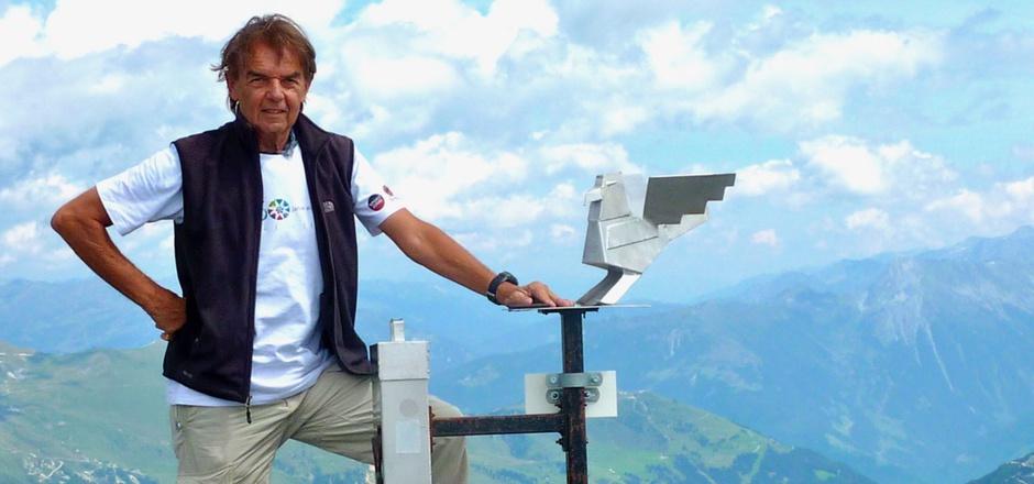 Gerald Aichner bleibt Landesvorsitzender des ÖAV Tirol.