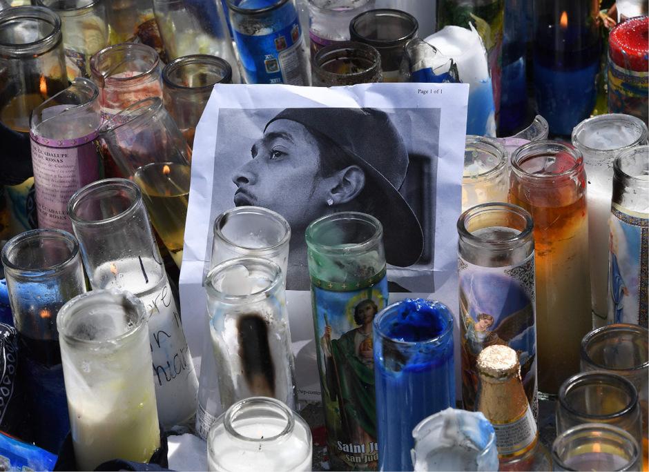 Nipsey Hussle wurde vor einem Einkaufszentrum in Los Angeles erschossen.