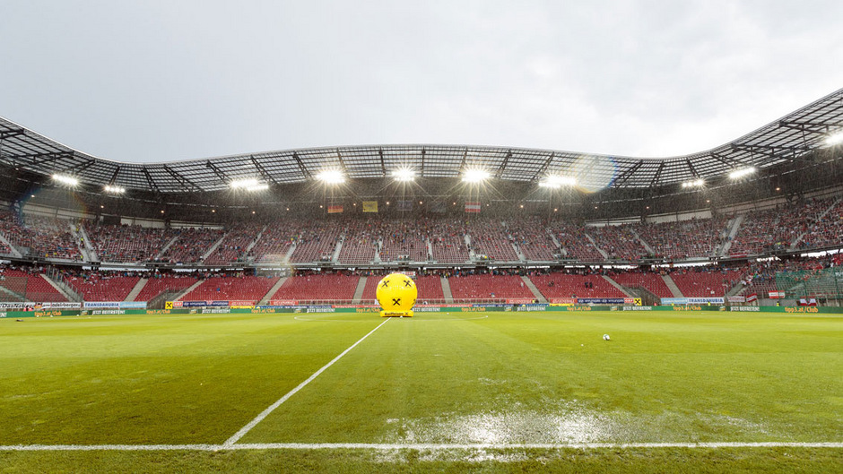 Das Wörthersee-Stadion in Klagenfurt.