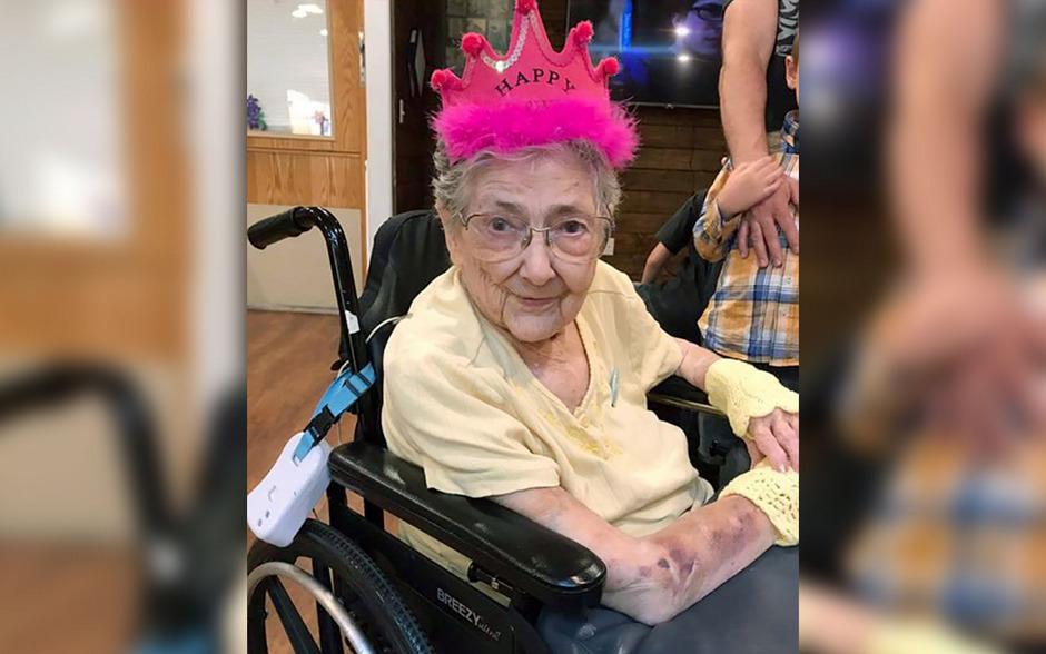 Rose Marie Bentley wurde trotz einer Anomalie 99 Jahre alt.