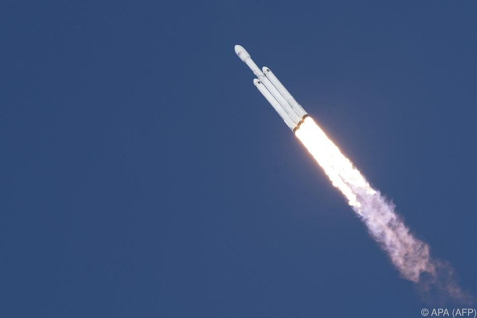 Eine Facon-Heavy-Rakete.