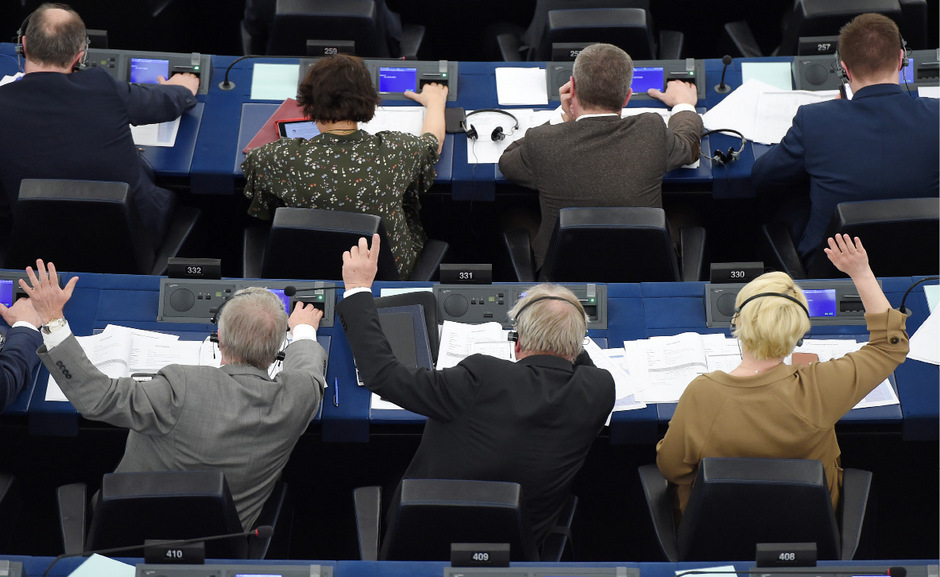 Abgeordnete im EU-Parlament in Straßburg: Wer bleibt? Wer geht? Wer kommt neu? Am 26. Mai wird das Parlament neu gewählt.