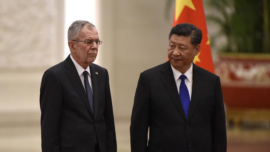 """""""Seidenstraße"""" Thema bei Austro-chinesischem Treffen"""
