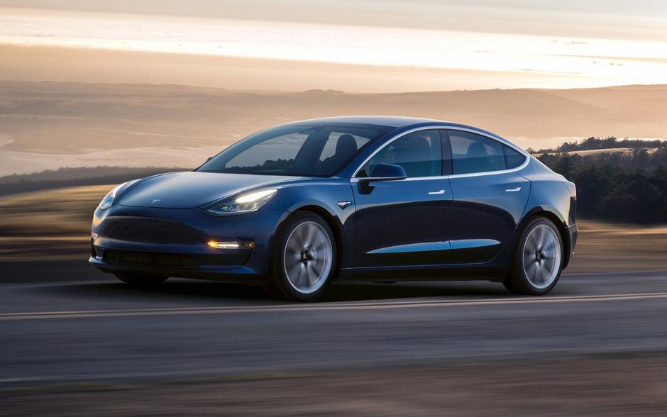 Teslas Elektroauto Model 3.