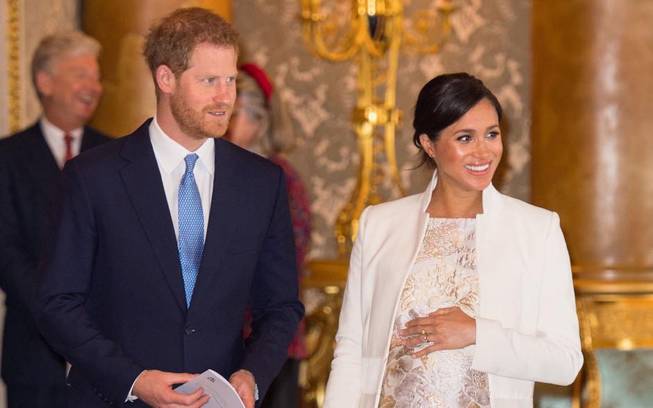 Prinz Harry und Herzogin Meghan erwarten in Kürze ihr erstes Kind.