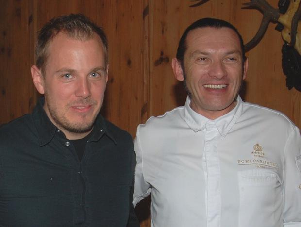 Die Haubenköche Gunther Döberl und Gustav Jantscher waren auch mit von der Partie.
