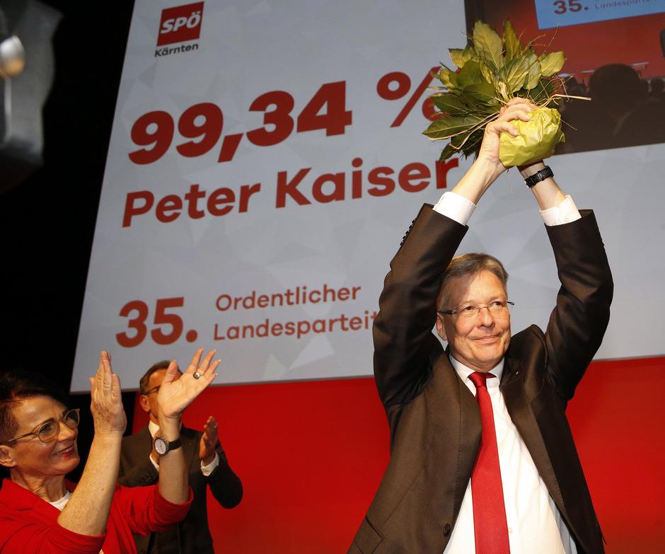 Peter Kaiser wurde wiedergewählt.