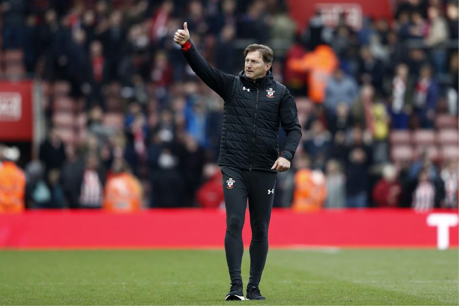 Trainer Ralph Hasenhüttl steht mit Southampton vor dem Verbleib in der Premier League.