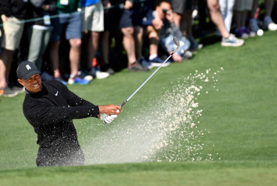 Tiger Woods liefert in Augusta eine starke Leistung ab.