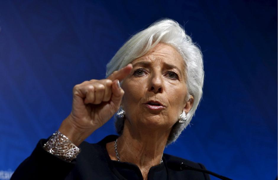 IWF-Chefin Christine Lagarde kritisiert politischen Einfluss..
