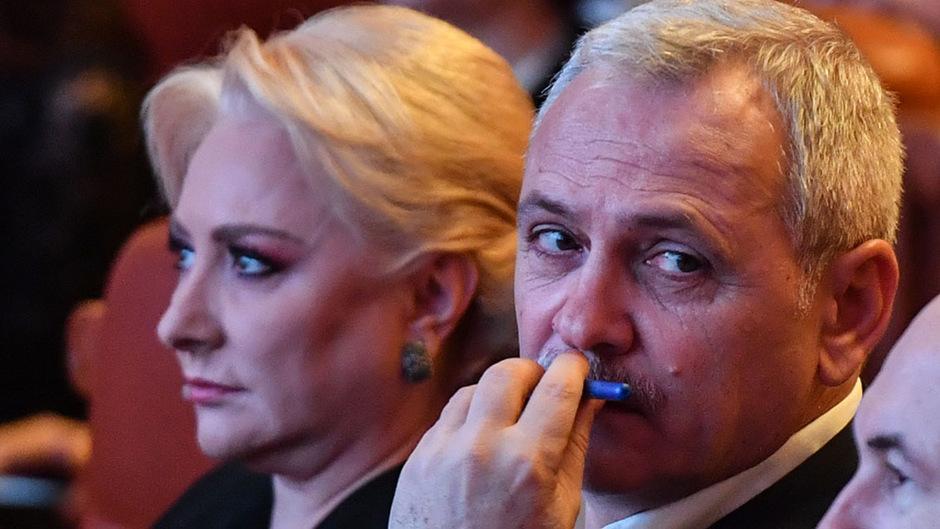 Rumäniens Premierministerin Viorica Dancila und PSD-Chef Liviu Dragnea.