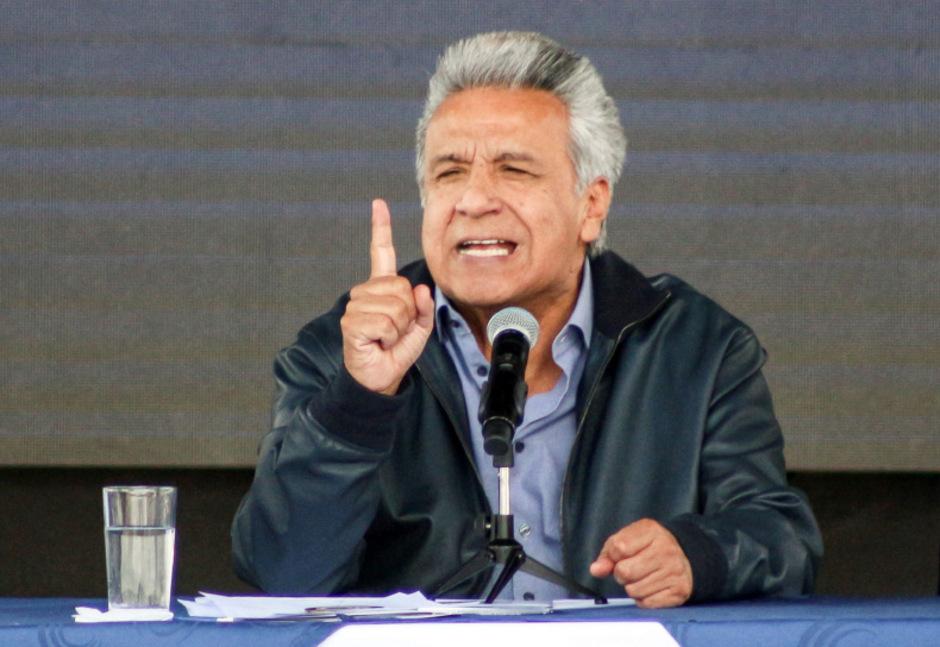 Ecuadors Präsident Lenin Moreno.