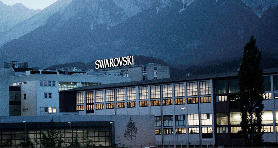 Die Swarovski-Zentrale in Wattens.