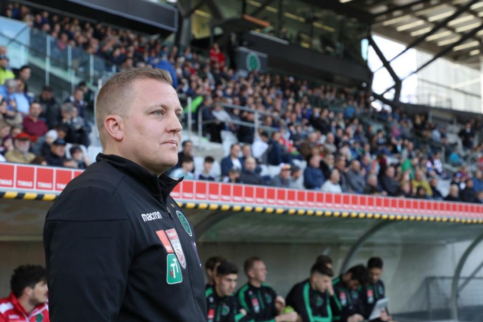 Wacker-Coach Thomas Grumser.