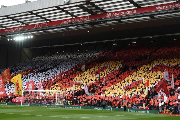 """""""Justice for the 96"""": In Liverpool ist der Kampf für Gerechtigkeit nach der Hillsborough-Katastrophe längst in die Klub-DNA eingebrannt."""