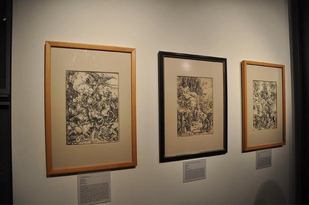 Gezeigt werden bis Ende Oktober auch einige Stiche von Albrecht Dürer.