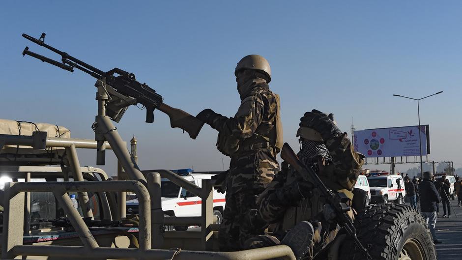 Sicherheitskräfte in Afghanistan. (Archivfoto)