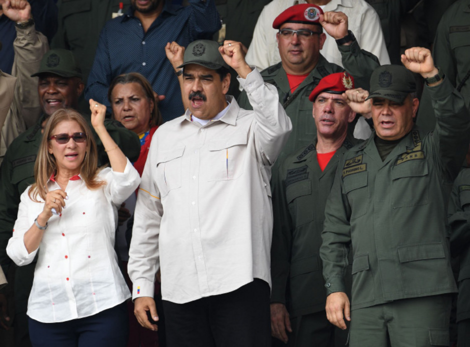 Noch hält das Militär Nicolas Maduro die Treue.