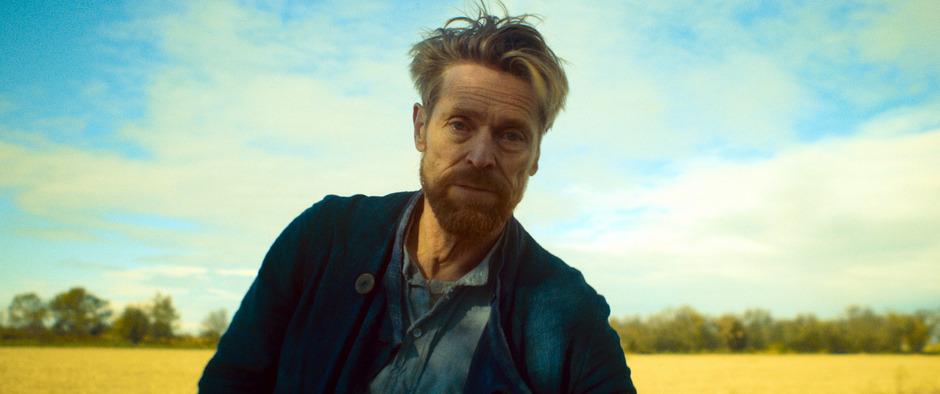 """Willem Dafoe gewann 2018 beim Filmfestival von Venedig für sein virtuoses Spiel in """"Van Gogh – An der Schwelle zur Ewigkeit"""" den Darstellerpreis."""