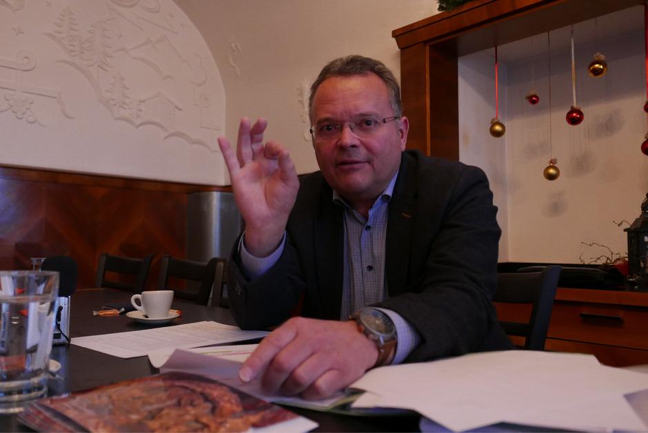"""""""Es geht um die Erreichbarkeit der Region, die eine Grundvoraussetzung für den Aufschwung ist"""", sagt Gerald Hauser."""