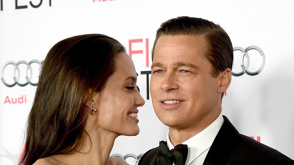 War da was? Angelina Jolie und Brad Pitt 2005.