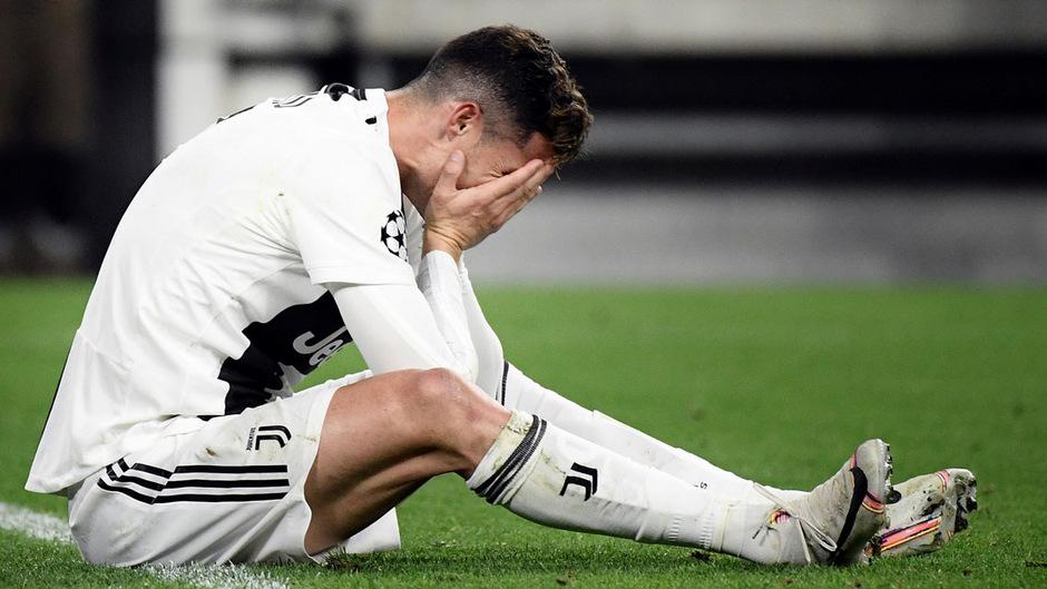 Erstmals seit langer Zeit findet ein Championsleague-(Halb)Finale ohne ihn statt: Cristiano Ronaldo.