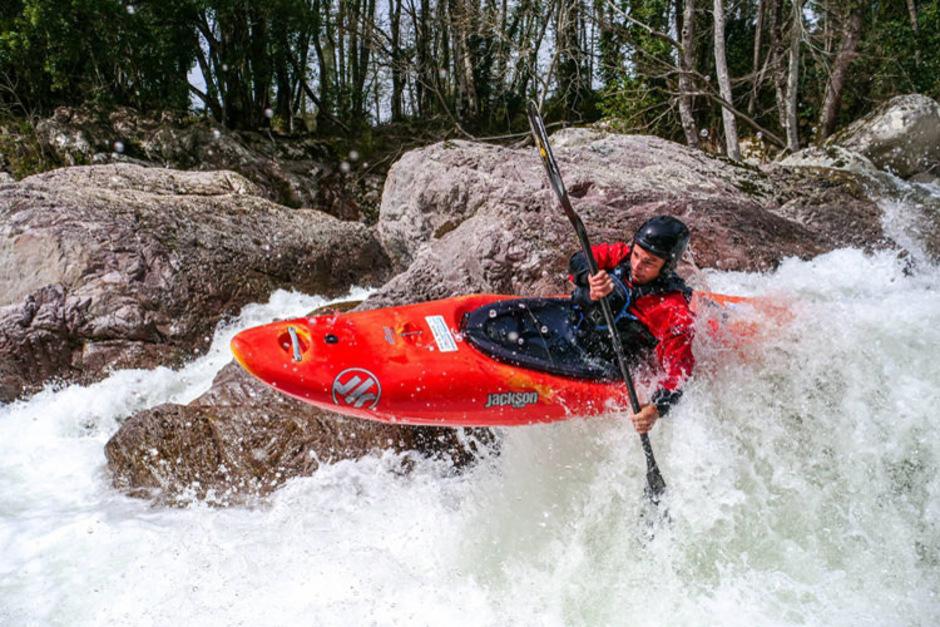 Extrem-Kajakfahrer Andreas Brunner befuhr schon Flüsse in Norwegen, Russland und Korsika.