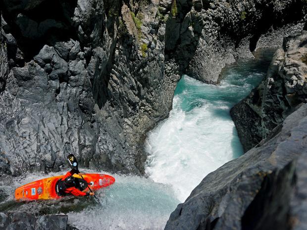 Brunner war auch schon auf dem Rio Claro in Chile unterwegs.
