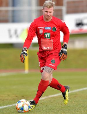 Wacker-Goalie Knett.