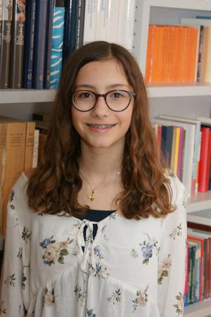 Die Vorarlbergerin Hannah Konzett ist 15 Jahre alt und geht auf das Bundesgymnasium in Bludenz.