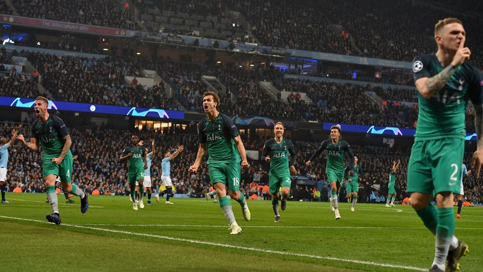 In einem begeisternden rein englischen Viertelfinal-Duell setzte sich am Ende Tottenham durch.