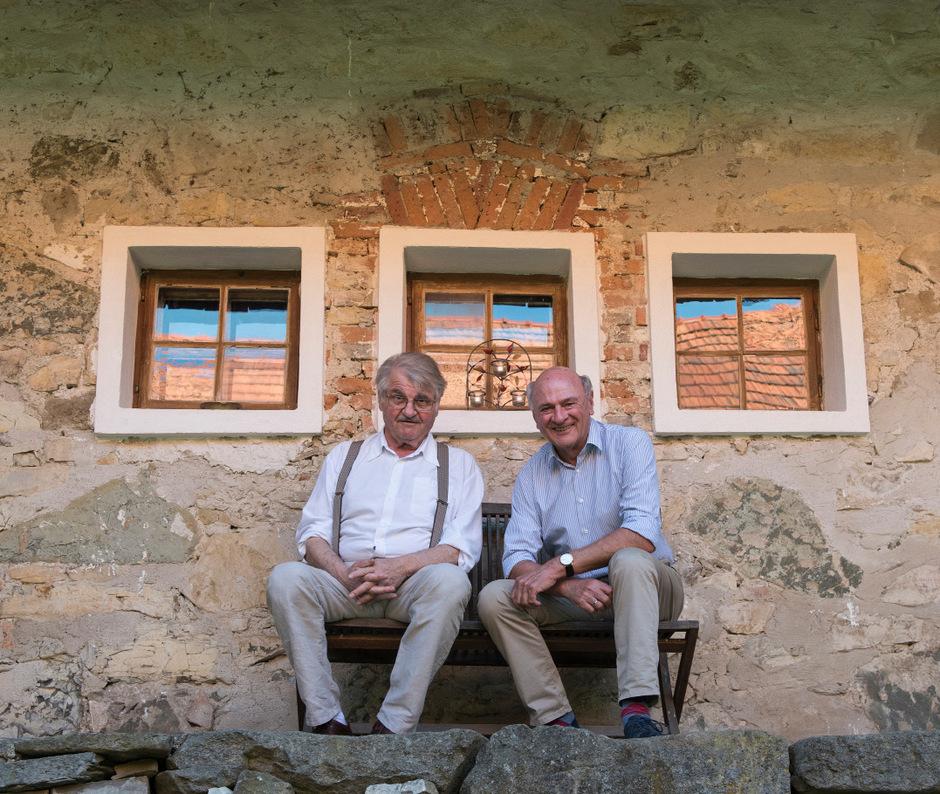 Dramatiker Peter Turrini und den Politiker Erwin Pröll verbindet eine unwahrscheinliche Freundschaft.