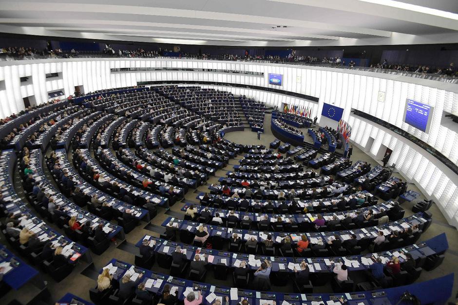 Das Europaparlament in Straßburg.