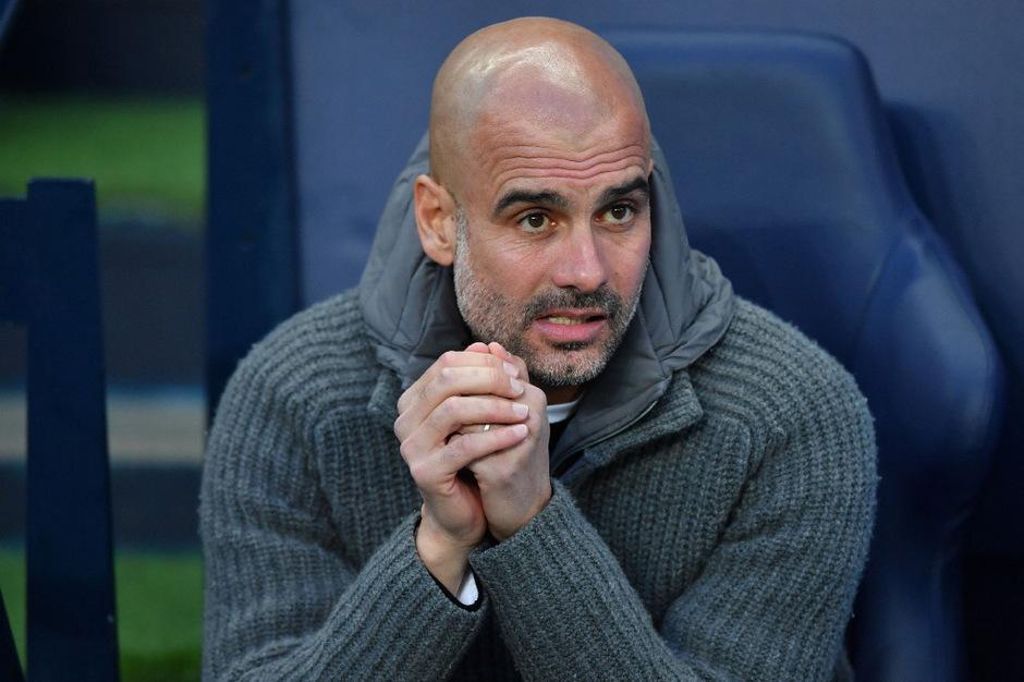 City-Coach Pep Guardiola.