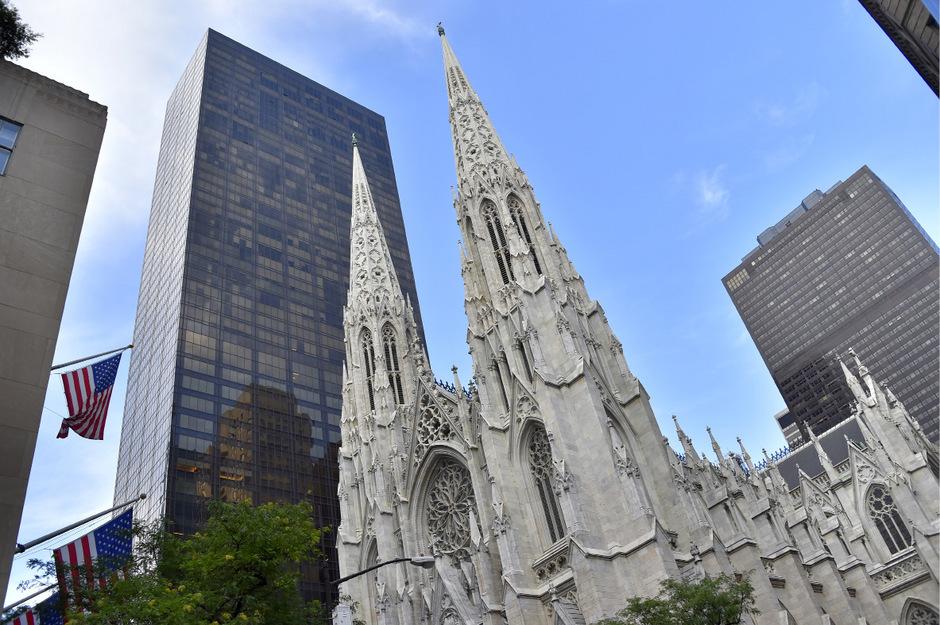 Die St. Patricks Kathedrale in New York.