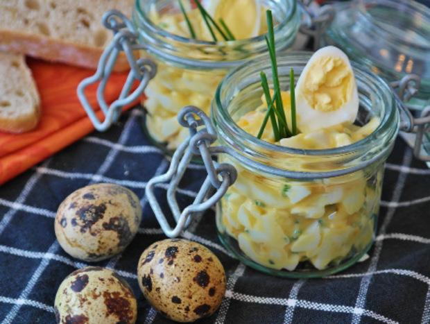 Eiersalat ist vor allem in Tirol zu Ostern sehr beliebt.