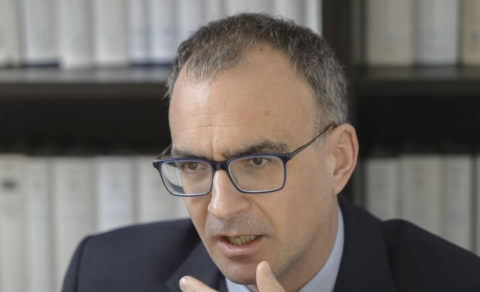 Olivier Dantine, Superindendent der Evangelischen Kirche Tirol Salzburg , im Interview mit der Tiroler Tageszeitung.